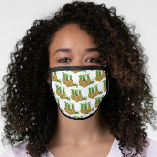 pineapples squad face mask
