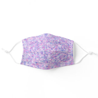 Pink and Purple Adult Cloth Face Mask