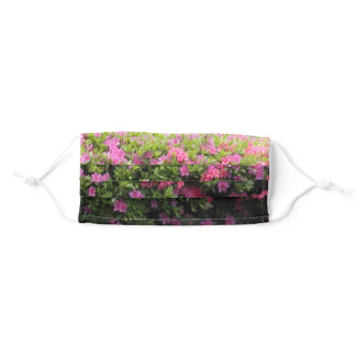Pink And Purple Flowers Adult Cloth Face Mask