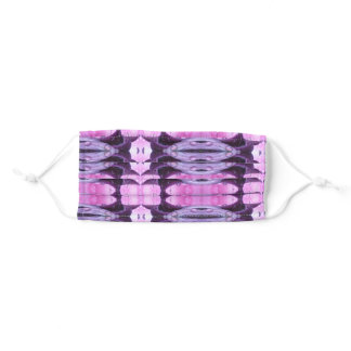 Pink & Purple Ikat Adult Cloth Face Mask
