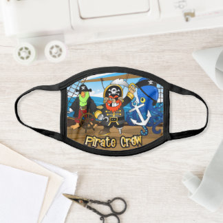 Pirate Crew Face Mask