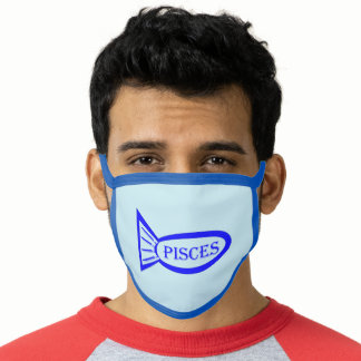 Pisces Star Sign Fish Face Mask