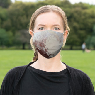 Pluto Face Mask