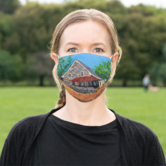 Plymouth Meeting Friends School face mask