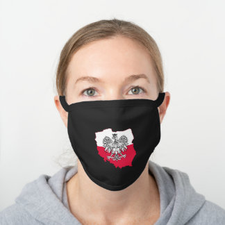 Poland Map Face Mask