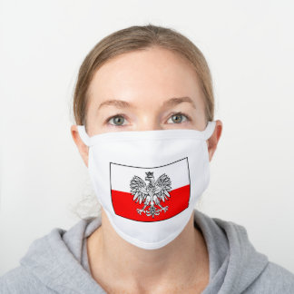 Polish Flag Face Mask