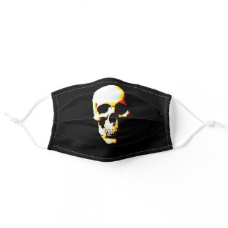 Pop Art Skull Adult Cloth Face Mask
