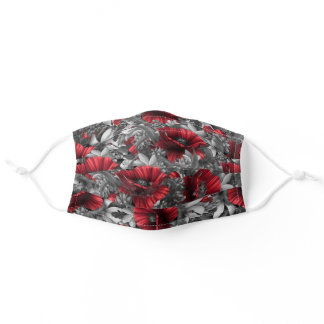 Poppy Pops Adult Cloth Face Mask