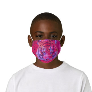 popular Animals - Tiger 2 Kids' Cloth Face Mask