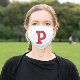"Portsmouth ""P"" Adult Cloth Face Mask"