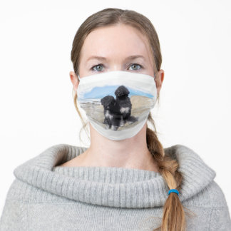Portuguese Water Dog Face Mask