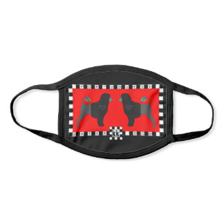 Portuguese Water Dog pair face mask