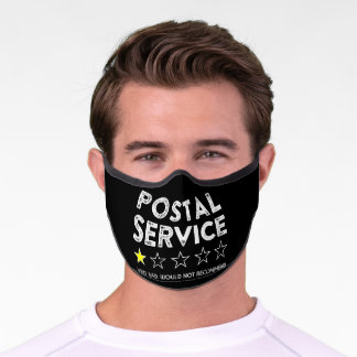 Postal Service Very Bad Not Recommend Worker Premium Face Mask