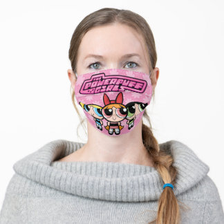 Powerpuff Girls: Sugar, Spice and Everything Nice Adult Cloth Face Mask