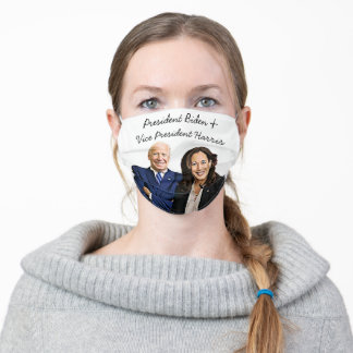 President Biden and Vice President Harris 2020 Adult Cloth Face Mask