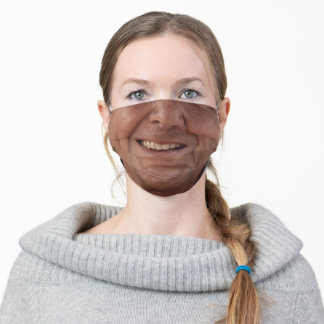 President Ronald Reagan Face / Smile Adult Cloth Face Mask
