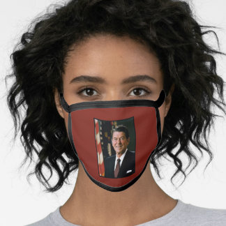 President Ronald Reagan US President The Gipper Face Mask