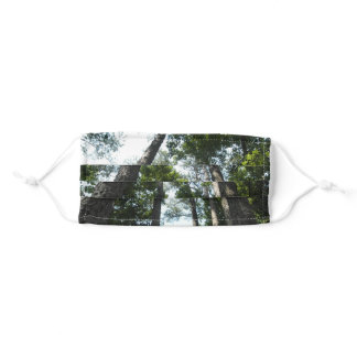 Pretty Day  In The Forest Adult Cloth Face Mask