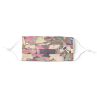 Pretty Floral Adult Cloth Face Mask