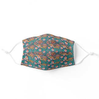 Pretty Floral Paisley Adult Cloth Face Mask