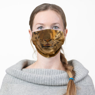 Proud Tiger Wild Animal Print Fierce Protection Adult Cloth Face Mask