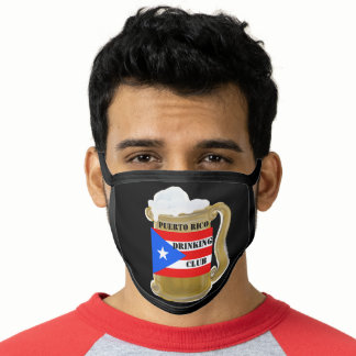 PUERTO RICO DRINKING CLUB FACE MASK