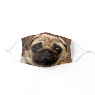 Pug Face Cute Dog Puppy Lover Adult Cloth Face Mask