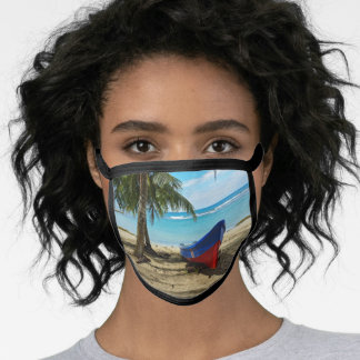 Pura Vida in Costa Rica - Central America Face Mask