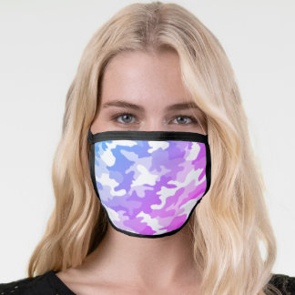 Purple & Blue Face Mask