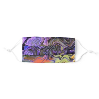Purple Paisley everywhere Adult Cloth Face Mask