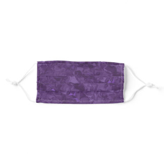 Purple Satin Dreams Adult Cloth Face Mask