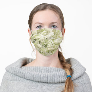 Queen Anne's lace Adult Cloth Face Mask