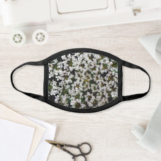 Queen Anne's Lace Face Mask