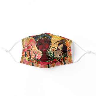 Queen by Meeka Ink Adult Cloth Face Mask