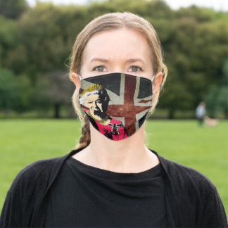 Queen Elizabeth Face Mask cover