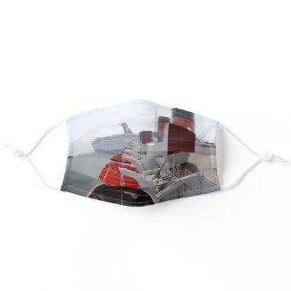 Queen Mary Cruise Ship Adult Cloth Face Mask