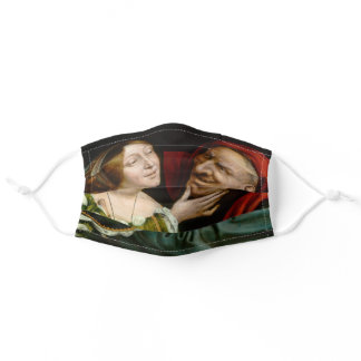 Quentin Matsys - Matched Lovers Adult Cloth Face Mask
