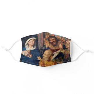 Quentin Matsys - The Adoration of the Magi Adult Cloth Face Mask
