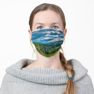Quindio Armenia Colombia Nature Green Blue Sky Adult Cloth Face Mask