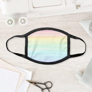 Rainbow Face Mask Rainbow Watercolor Beautiful