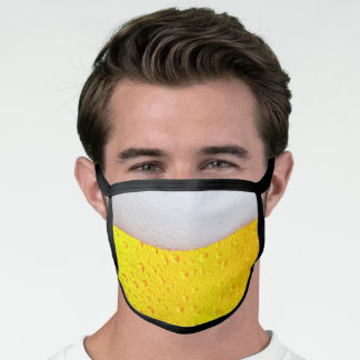 Realistic Beer Corona Virus COVID 19 Face Mask