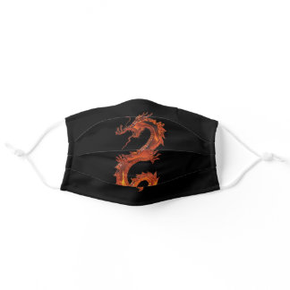 Red Dragon Adult Cloth Face Mask