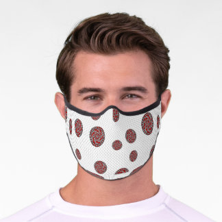 Red Machinery Premium Face Mask