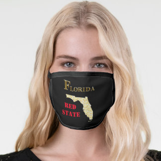 RED STATE FLORIDA FACE MASK