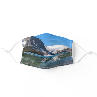 Reflection on Lake Louise - Banff NP, Canada Adult Cloth Face Mask