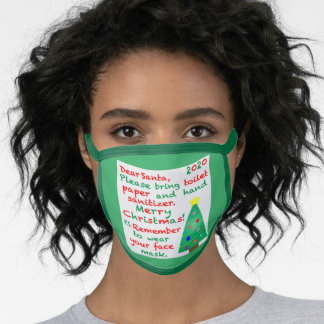 Remembering 2020 Christmas Face Mask
