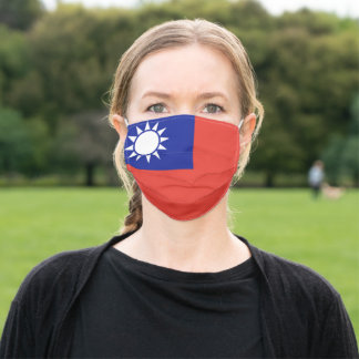 Republic of China (TAIWAN) flag Adult Cloth Face Mask