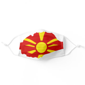 Republic of North Macedonia official flag Adult Cloth Face Mask