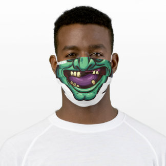 Resting Witch Face Adult Cloth Face Mask