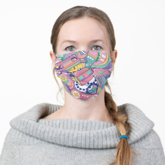 Retro Collection - Memory Time Machine Adult Cloth Face Mask
